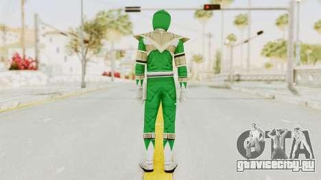 Mighty Morphin Power Rangers - Green для GTA San Andreas третий скриншот