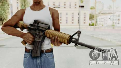 HD M4 v2 для GTA San Andreas третий скриншот