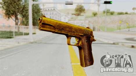 M1911 Gold для GTA San Andreas второй скриншот