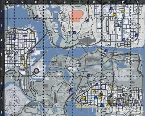 Интерьер СТО San Fierro для GTA San Andreas третий скриншот