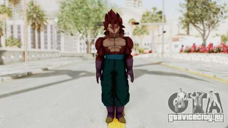 Dragon Ball Xenoverse Vegito SSJ4 для GTA San Andreas второй скриншот