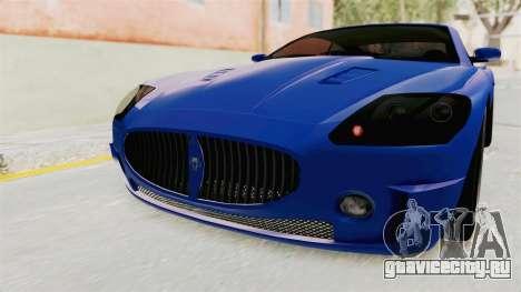 GTA 5 Ocelot F620 IVF для GTA San Andreas вид сверху