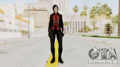 Batman Arkham Origins - Lady Shiva для GTA San Andreas второй скриншот