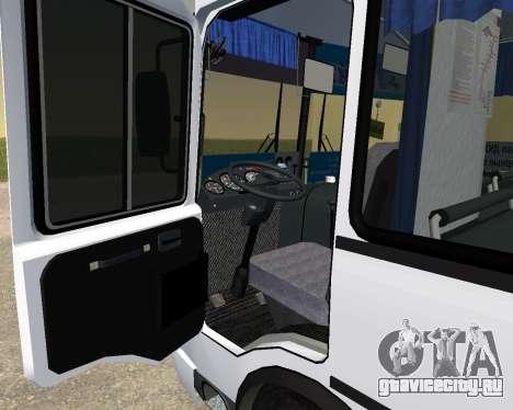 Паз 3205 Дзержинск для GTA San Andreas вид сзади