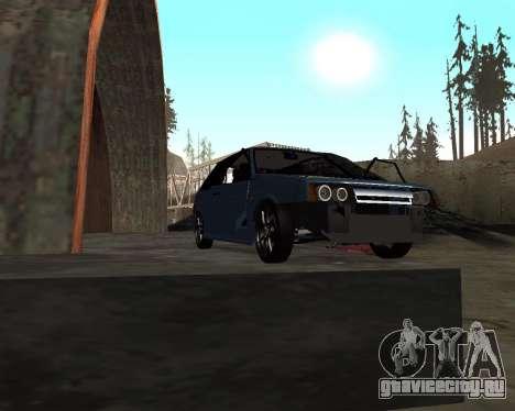 VAZ 2108 для GTA San Andreas салон