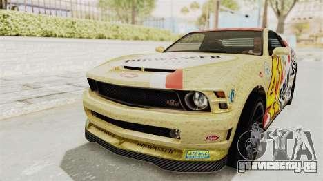 GTA 5 Vapid Dominator v2 IVF для GTA San Andreas салон
