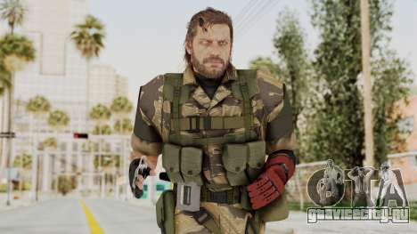 MGSV The Phantom Pain Venom Snake No Eyepatch v2 для GTA San Andreas