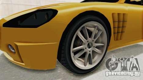 GTA 5 Ocelot F620 SA Lights для GTA San Andreas вид сзади