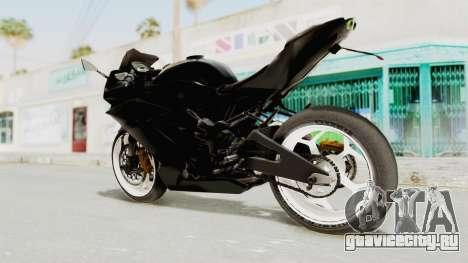Kawasaki Ninja 250RR Mono Sport для GTA San Andreas вид слева