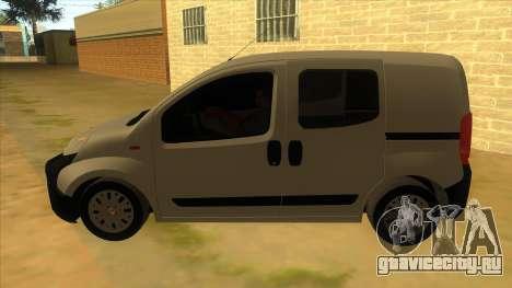 Fiat Fiorino Combi Mix для GTA San Andreas вид слева