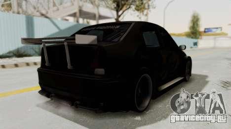 Dacia Logan Loco Tuning для GTA San Andreas вид справа