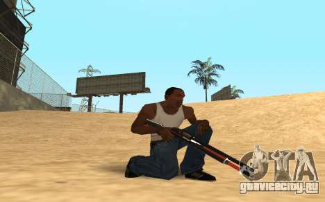Shotgun Cyrex для GTA San Andreas второй скриншот