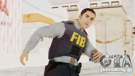 GTA 5 F.I.B. Ped для GTA San Andreas