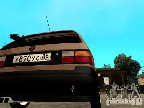 Volkswagen Passat B3 Variant для GTA San Andreas вид справа