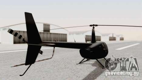 Helicopter de la Policia Nacional del Paraguay для GTA San Andreas вид сзади слева