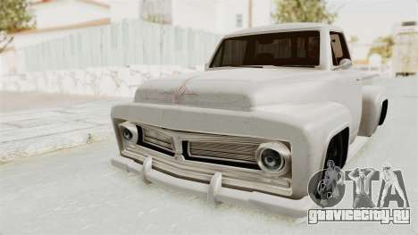 GTA 5 Slamvan Stock для GTA San Andreas