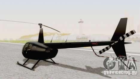 Helicopter de la Policia Nacional del Paraguay для GTA San Andreas вид слева