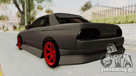 Nissan Skyline R32 4 Door Drift для GTA San Andreas вид слева