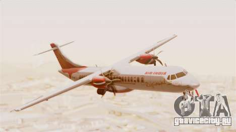 ATR 72-600 Air India Regional для GTA San Andreas вид сзади слева