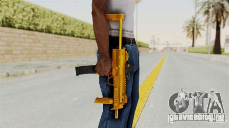 MP7A1 Gold для GTA San Andreas