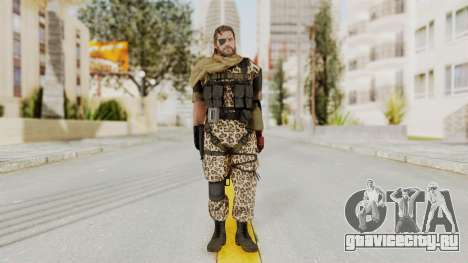 MGSV The Phantom Pain Venom Snake Scarf v8 для GTA San Andreas второй скриншот