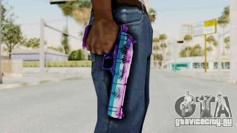 Vice Desert Eagle для GTA San Andreas третий скриншот