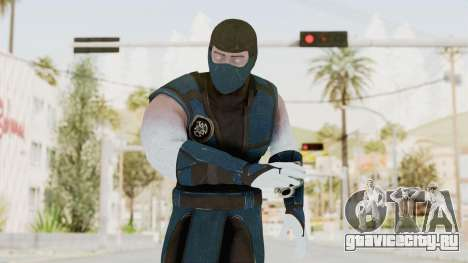 Mortal Kombat X Klassic Sub Zero v2 для GTA San Andreas