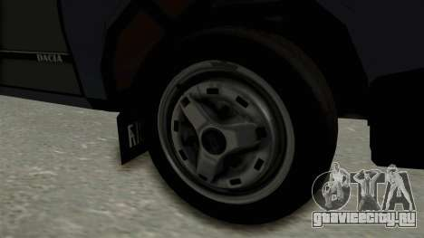 Dacia 1310 Funingi Taraneasca для GTA San Andreas вид сзади