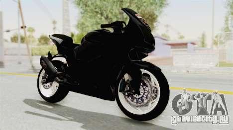Kawasaki Ninja 250R Black Cobra RnB Anak Jalana для GTA San Andreas вид справа