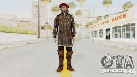 AC Brotherhood - Leonardo Da Vinci Fixed для GTA San Andreas второй скриншот