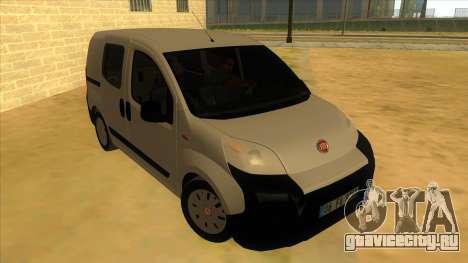 Fiat Fiorino Combi Mix для GTA San Andreas вид сзади