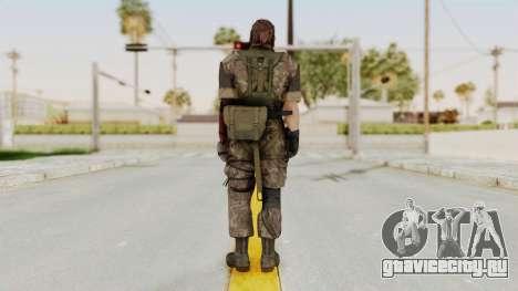 MGSV The Phantom Pain Venom Snake No Eyepatch v6 для GTA San Andreas третий скриншот