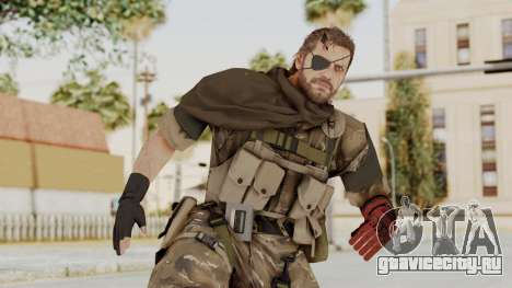 MGSV The Phantom Pain Venom Snake Scarf v9 для GTA San Andreas