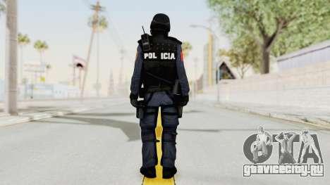 Albania Officer для GTA San Andreas третий скриншот
