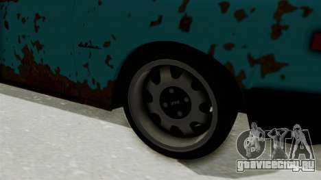 Wartburg 353 Rat Style для GTA San Andreas вид сзади