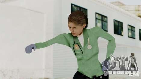 Female Medic Skin для GTA San Andreas