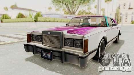 GTA 5 Dundreary Virgo Classic Custom v2 для GTA San Andreas двигатель