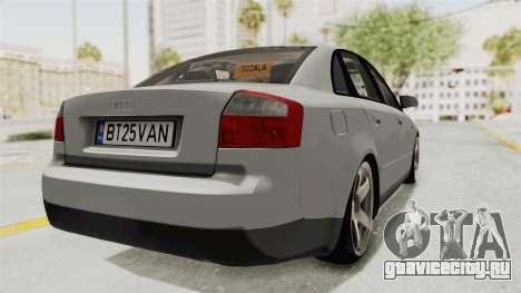 Audi A4 2002 Stock для GTA San Andreas вид слева