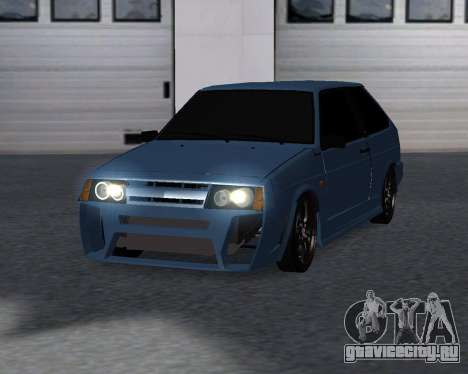 VAZ 2108 для GTA San Andreas вид сзади
