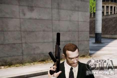 Глушитель на оружие для GTA 4 третий скриншот