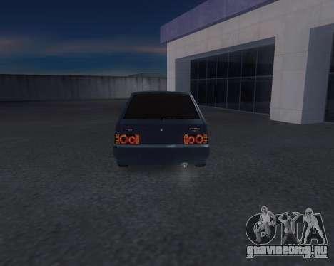 VAZ 2108 для GTA San Andreas вид справа