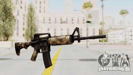 HD M4 v3 для GTA San Andreas второй скриншот
