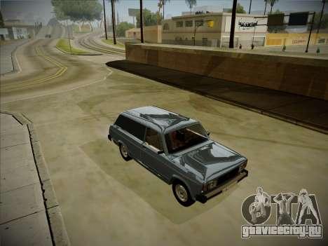 ВАЗ 2104 с большим багажником для GTA San Andreas вид слева