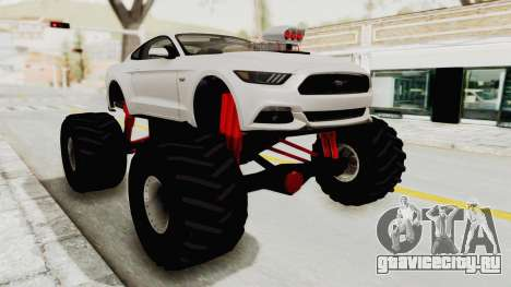 Ford Mustang GT 2015 Monster Truck для GTA San Andreas