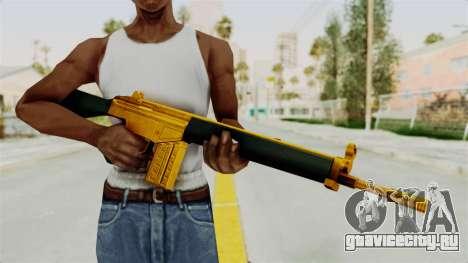 G3A3 Gold для GTA San Andreas третий скриншот