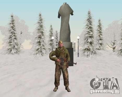 Пак бойцов красной армии для GTA San Andreas восьмой скриншот