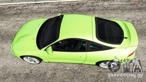 Mitsubishi Eclipse GSX для GTA 5 вид сзади