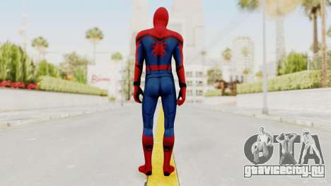 Captain America Civil War - Spider-Man для GTA San Andreas третий скриншот