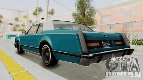 GTA 5 Dundreary Virgo Classic Custom v3 IVF для GTA San Andreas вид слева