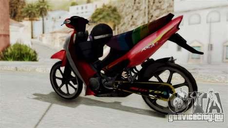 Suzuki RGX 120 для GTA San Andreas вид сзади слева